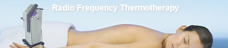 radio frequency beauty equipment for cellulite and wrinkle elimination